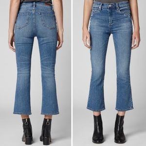 BLANKNYC The Vandam High-Rise Kick Flare Jeans